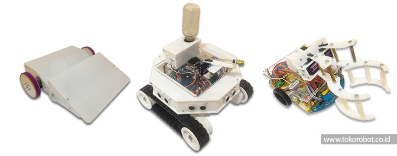 Kontes Robot - Robot Lomba Multi Platform 5-in 1