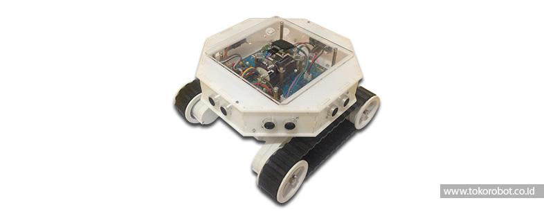 Robot Lomba Multiplatform - Obstacle Avoiding Robot