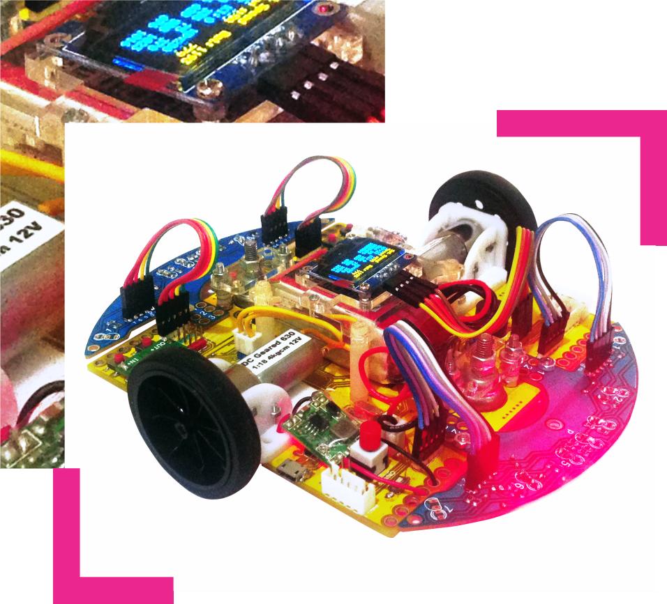 Robot Lomba Multiplatform - Maze Solving Robot Kit